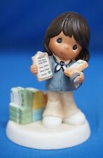 Girl Scout Volunteer Precious Moments Figure African American 104053