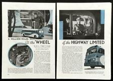 1939 Greyhound Bus Supercoach Highway Liner vintage pictorial