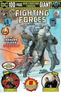 OUR FIGHTING FORCES GIANT #1 (DC COMICS 2020) Jim Lee OBAMA BATMAN STORY!