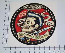 GOO GOO MUCK Aufkleber Sticker Elvis Oldschool Retro Tattoo Hot Rods Rock Mi341