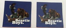 2x The beastie boys official stickers