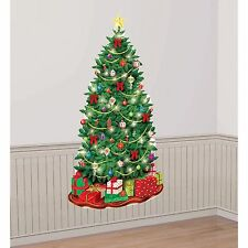 Classic Christmas Tree Giant Scene Setter Decoration. Amscan. Delivery