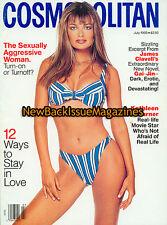 Cosmopolitan 7/93,Paulina Porizkova,July 1993,NEW