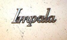 Rare Chrome Impala Emblem Decal Mopar Auto