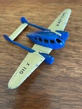 Vintage Tootsietoy Crusader X 110 Cream and Blue Airplane