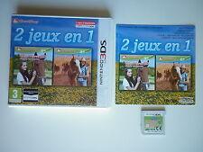 2 jeux en 1 Mon cheval Western + Mon Haras 3D Jeu Vidéo Nintendo 3DS