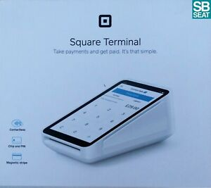 Square Terminal Card Reader Contactless Chip & PIN Debit Credit Cards (OPEN BOX)
