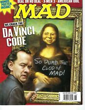 Mad magazine #466 June 2006 Fine cond DaVinci Code Tom Hanks X-Men 3