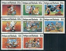 ANTIGUA & BARBUDA 1314-21 SG1420-27 1990 MNH Hollywood Disney set of 8 Cat$11