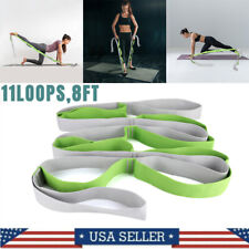 Fitness Yoga Strap Exercise Stretching Belts Resistance Band Physiotherapy Sport