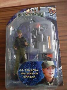 Stargate SG1diamond select toys   Lt . Colonel Samantha  Carter series 2 2006