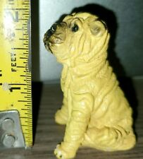 Vintage Shar Pei Dog Figurine Rare