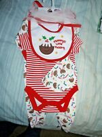 Mummys little pudding, babygro, vest, hat, bib, Babys first Christmas, newborn