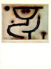 """1967 Vintage PAUL KLEE """"EMBRACE"""" FABULOUS SYMBOLIC COLOR offset Lithograph"""
