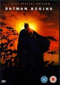 Batman Begins (DVD 2005 2-Disc Set - Christian Bale) T2TCDVD262 A07