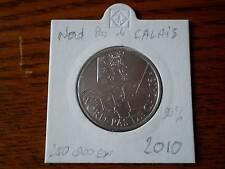 Pièce 10 euros région NORD PAS DE CALAIS 2010 sous ETUI en argent 90% 250 000 EX