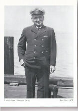 (P0001) Postcard Lightkeeper Hermann Engel (modern card)