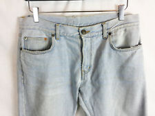 767e98c09b1 SAINT LAURENT PARIS Washed Slim Skinny Light Blue Jeans Pants Denim 32 33 34