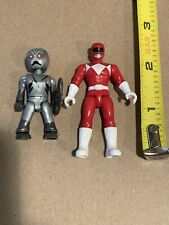 Mega Construx Power Rangers Blind Bags Red Ranger And Putty Figures -Cake Topper