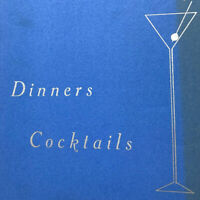 Vintage 1940s Tino's Restaurant Menu Dinner Cocktails San Leandro California