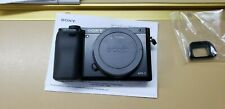 Sony Alpha a6000 Mirrorless 24.2MP 4K Digital Camera (Body Only) ILCE-6000