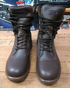 YDS Kestrel Patrol Boots  Brown Leather Combat Walking Mens 9M