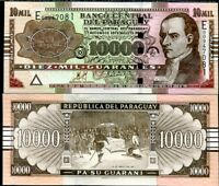 10000 Pick 224a Paraguay UNC C-Series Guaranies 2004 10,000