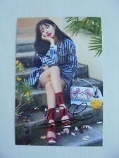 Suzy Bae Miss A 4x6 Photo Korean Actress KPOP autograph signed USA Seller 41