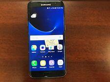 Samsung Galaxy S7 Edge SM-G935W8 32GB Black (Rogers) (Cracked + Network Bad)