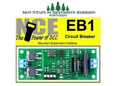 NCE 225 EB-1 Circuit Breaker for use with DCC systems EB1      MODELRRSUPPLY-com