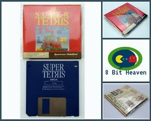 SUPER TETRIS BY SPECTRUM HOLOBYTE FOR COMMODORE AMIGA - TESTED & WORKING