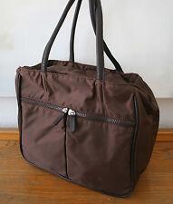 Strenesse Tasche, sportlicher Handtasche, Shopper, Nylon braun, 100 % Original