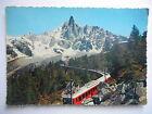 """CPSM """"Chamonix Mont Blanc - Chemin de fer du Montenvers et l'Aiguille du Dru"""""""