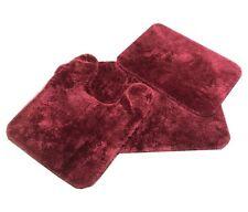 Royale Burgundy Bath Rugs - Mohawk® Home Royale Solid Bath Rug Merlot Burgundy