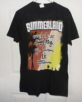 2012 SUMMERLAND TOUR T SHIRT -SIZE LARGE-BANDS-EVERCLEAR SUGAR RAY GIN BLOSSOMS