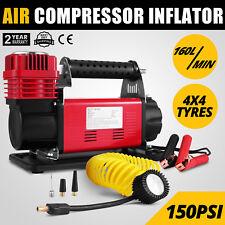 12V Heavy Duty Air Compressor 160L/Min 4x4 Tyre Pump Tyre