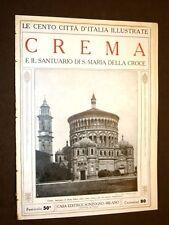 Crema, Santuario di Santa Maria della Croce - Le Cento Città d'Italia illustrate