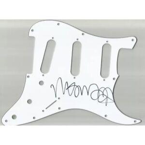 Genuine Mac DeMarco Hand Signed Guitar Pickguard Autograph Indie Rock Singer