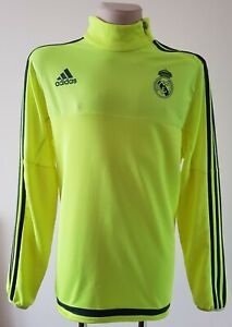Real Madrid 2015 - 2016 Adidas top training Neon Jacket S88965