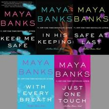 The Slow Burn EROTICA Series Paperback Collection Set Books 1-5 by Maya Banks