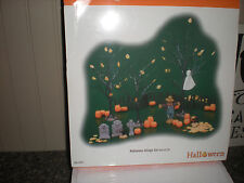 """DEPARTMENT 56 -24 PC HALLOWEEN TOWN SET"""" #56.52957. Complete and never used"""