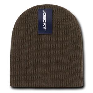 Decky Soft Beanies GI Cuffless Watch Hats Caps Ski Skull Warm Winter Unisex