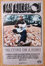 Music Poster Promo Dan Auerbach ~ Waiting On A Song