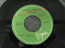"Orchestral Manoeuvres in the Dark locomotion - 45 Record Vinyl Album 7"""