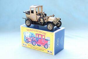 Matchbox Yesteryear Y11-2 Packard Landaulet (1912)  - Code 3 (D96)
