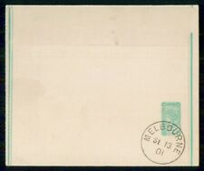 Mayfairstamps Victoria 1901 Cancelled Stationery Wrapper wwi27247