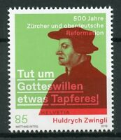 Switzerland 2019 MNH Huldrych Zwingli Reformation JIS Germany 1v Set Stamps