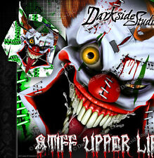 "SKI-DOO 2013-2016 XS REV SUMMIT ""STIFF UPPER LIP"" SIDE PANEL WRAP GREEN & WHITE"
