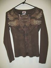 Harley-Davidson Long Sleeve Knit Top - Womens Size S - Reno Harley Davidson