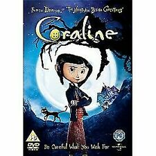 Coraline 2d Version Only DVD 2009